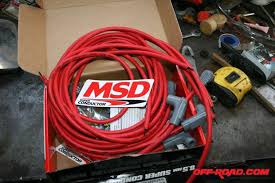 msd ignition upgrade off road com the msd cables in the kit we used were not precut the distributor side connectors