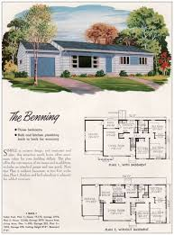 stunning shed style house plans housens 1950s small ranch home old small ranch style house plans