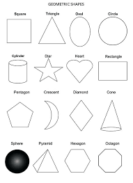 Shapes Coloring Page All Geometric Shapes Coloring Page Shapes ...