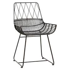 modern rattan furniture. Modern Black Rattan Chair *as Seen In 25 Beautiful Homes* Furniture