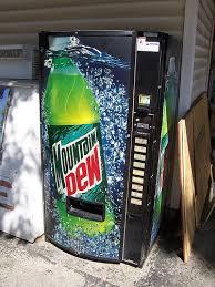 Vintage Mountain Dew Vending Machine Simple Old Mountain Dew Bottle Vending Machine A Photo On Flickriver