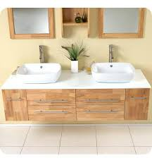 natural wood modern double vessel sink bathroom vanity dressing table designs natural wood vanity l50