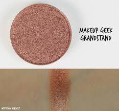 makeup geek grandstand swatches