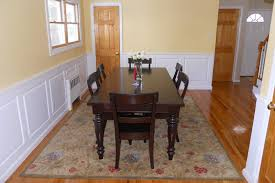 Wainscoting dining room Modern Classic Raised Panel Wainscoting Dining Room Glen Head Long Island Ny Thesynergistsorg Dining Room Wainscoting Ideas From Wainscoting America Customers