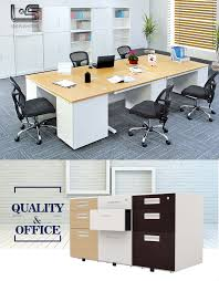 disassemble drawer cabinet double sided office desk with drawers