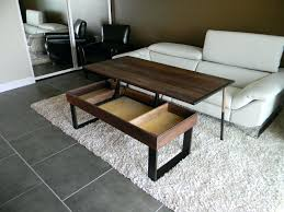 stand up coffee table no more awkward trays with this pop by of la glass tv