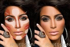 kim kardashian contouring makeup guide 3 780x524