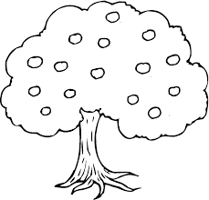 apple tree clipart black and white. apple tree clipart black and white l