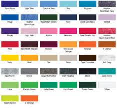 Gildan Color Chart 2019 Gildan G 8000 T Shirt Captain Jerrys T Shirts