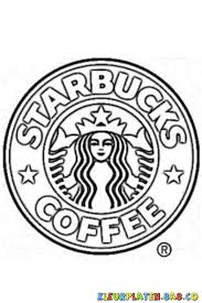 Starbucks Coloring Pages Sketch Coloring Page