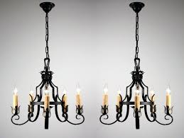 large round wrought iron chanlier with modified pattern tailing chandeliers rustic id f