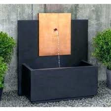 large outdoor wall fountains wide rectangle fountain copper water india foun