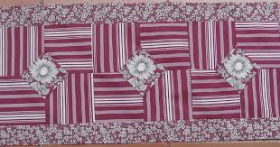 10 Minute Table Runner Pattern Awesome Vicki's Fabric Creations Another New Table Runer48 Minute Table