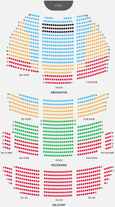 Oakdale Dome Seating Chart Oakdale Theater Seating Map Boston Opera House Seating