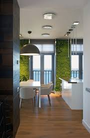 wall accent lighting. View In Gallery Accent Lighting Lits Up The Vetical Wall Gardens Living Room