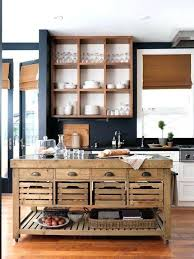 Open Kitchen Cabinet Designs