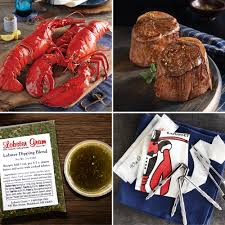 lobster gram most valuable dad surf turf gift packages