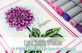 8 Copic Marker Tutorials With Free Printable Coloring Pages