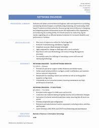 Network Engineer Resume Sample Cisco Best Of Cisco Certified