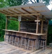 diy outdoor bar backyard bar