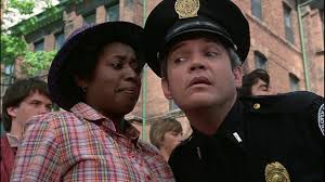 G.W. Bailey and Marion Ramsey in Police Academy (1984) | Police academy,  Police, Classic comedies