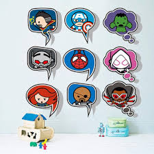 3d Cartoon Doll Iron Man Avengers Captain Spiderman Movie Hero Home Decal Kids Room Height Measure Growth Chart Wall Sticker Cling Wall Decals