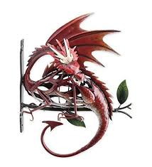 metal dragon on branch wall art 11 5 l x 5 25 w x 14 25 h on chinese dragon metal wall art with mythical powerful and celestial dragon wall art home wall art decor