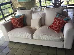 sofa tok stok 6 lugares almofadas