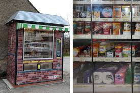 Vending Machine Shopping Impressive It's The Future Vending Machine Replaces Village Shop Daily Star