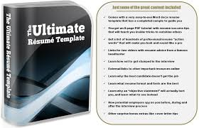 The Ultimate Resume Template Job Search Kit Personal Assistant Jobs