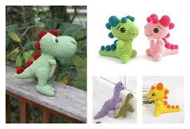 Free Crochet Dinosaur Pattern Amazing Crochet Amigurumi Dinosaur Free Patterns Cool Creativities