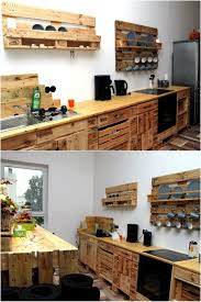 Pallet Kitchen Furniture Diy Pallet Kitchen Wood Pallet Furniture