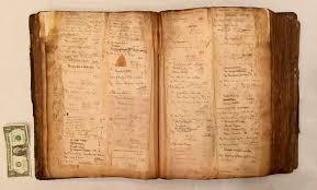 1888 ideal prescription book tome huge handwritten diary of antique cine old ebay