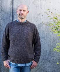 Men's Sweater Patterns Classy SaddleShoulder Men's Pullover Pattern Churchmouse Yarns Teas