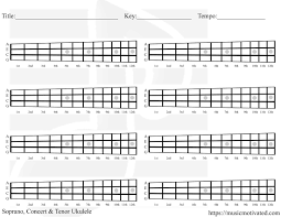 Blank Chord Chart Blank Chord Tabs For All Instruments
