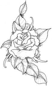 Small Picture drawing of a rose Bullet Journals Pinterest Rose Draw and