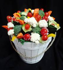 Assorted Vegetable Bouquet Www Cakeaters Com Vegetable