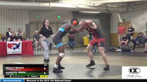 Mat 12 165 Wesley Reeves Colorado Blue Vs Marquail Green Tennessee - YouTube
