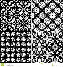 refined modern seamless geometric wallpaper pattern stock vector