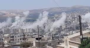 قصف صاروخي مكثف مجهول المصدر يطال عفرين شمال غربي سوريا