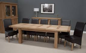 homestyle bordeaux thick top solid oak grand extending dining table dining tables extendable fit furnish yeovil somerset