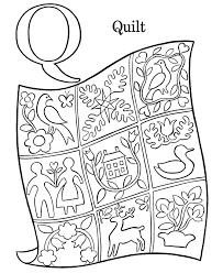 Letter Q Coloring Pages#416238