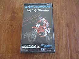 Amazon.com: Rick Johnson:Profile of a Champion [VHS]: Johnson,Rick: Movies  & TV
