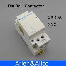 <b>2P 40A 220V/ 230V</b> 50/60HZ Din rail Household ac Modular ...