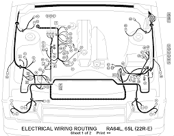 Toyota pickup wiring harness wiring diagram