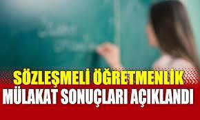 sendikabulteni.com - Sözleşmeli öğretmenlik mülakat sonuçları açıklandı