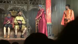 Taming of the shrew begins with a group of hunting nobleman tricking a drunken tinker named christopher sly into believing he is a lord. Petruchio Baptista Hortensio Gremio Lucentio In The Taming Of The Shrew Youtube