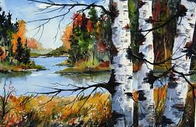 anyhow that s how i paint birches in fall hope you enmjoyed it