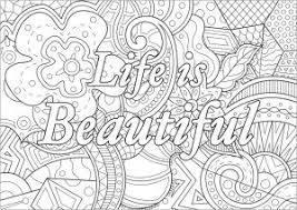 Inspire good vibes is about connecting to positive energy. Positive And Inspiring Quotes Coloring Pages For Adults