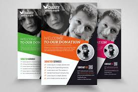 Donation Flyer Template Fascinating Charity Donation Flyer Templates